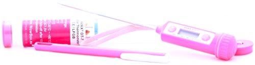 AVAX DT-7 - Digitales LCD Haushaltsthermometer Kochthermometer Einstichthermometer Küchenthermometer (einsetzbar für Braten, Grillen/BBQ, Backen, Wein, Bier, Fleisch, Fisch, Teewasser, Yerba Mate, usw.) // -50C to 300C / -58F to 572 // - Batterie enthalten