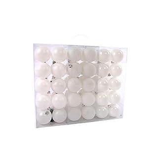 Lifestyle-More-Weihnachtskugeln-Christbaumkugeln-Set-61-teilig-mit-nur-Groen-Kugeln–6-cm-Wei-inklusive-Sternspitze-und-passenden-Anhngern