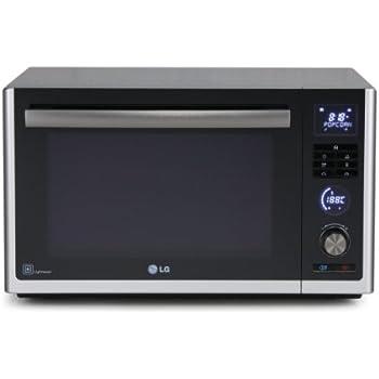 LG MJ3281BC Mikrowelle (32 L, 900 W, Lichtwellentechnologie 2.0 mit Carbonheizelement, Aktiv-Heißluft ermöglicht auch Kochen und Braten) schwarz