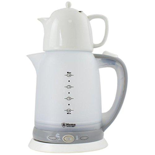 Tè bollitore con caraffa in ceramica da 1,8l samovar elettrico 2200watt