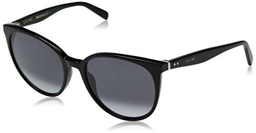 Celine Für Frau 41068 Black / Dark Grey Gradient Kunststoffgestell Sonnenbrillen