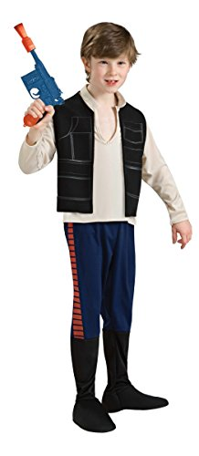 Generique Han Solo Star Wars-Kostüm für Kinder 110/116 (5-6 Jahre)