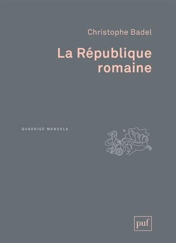 La République romaine par Christophe Badel