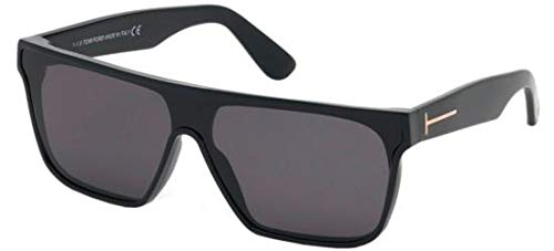 Tom Ford Sonnenbrillen WYHAT FT 0709 BLACK/SMOKE Herrenbrillen