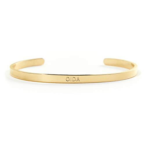 Der OIDA Armreif - aus Edelstahl in Gold, Silber und Rose Gold - BERGERLIN Specials