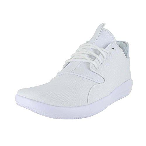 Nike Herren Jordan Eclipse Basketballschuhe, Grau Weiß