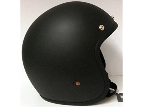 Bandit Helmets ECE Jethelm, Größe:ECE-M1(57);Farbe:ECE dull black