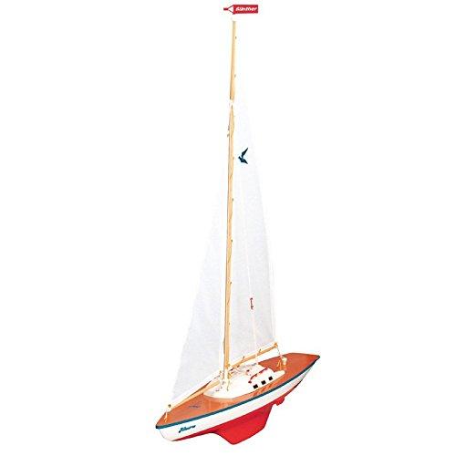 Preisvergleich Produktbild Segeljacht Albatros 71x89cm Boot Segelbootmodell Modell Schiff Schiffmodell Segler Jacht