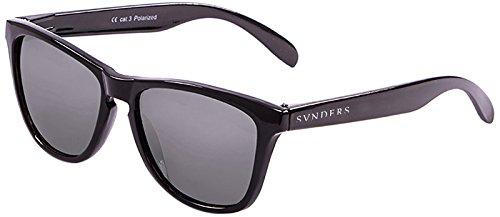 SUNPERS Sunglasses su40002.53Brille Sonnenbrille Unisex Erwachsene, schwarz
