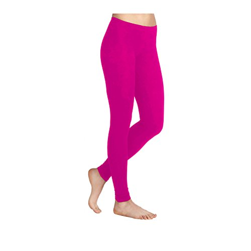 Plain, Stretchy Lycra Leggings. Sizes 8 to 26 - many colours