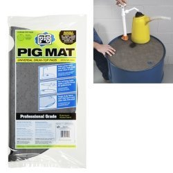 new-pig-corporation-npg25102-pig-universal-light-weight-absorbent-drum-top-pad-5-pads-per-bag-by-new