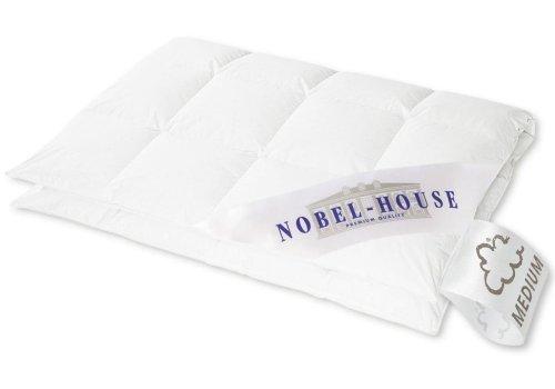 Hanskruchen Nobel House Luxus Daunendecke, Medium, Baumwolle, 155 x 200 cm
