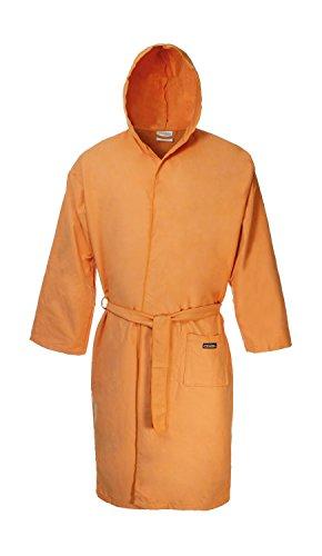 Ferrino Sport Robe Lite, Accappatoio Uomo, Arancione, L/XL