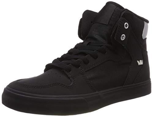 Supra Unisex-Erwachsene Vaider Hohe Sneaker, Schwarz Chrome-Black 005, 43 EU (Supra)