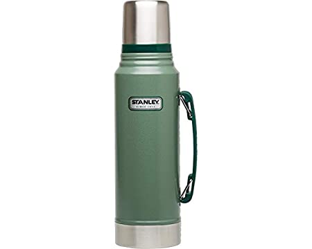 Classic Vacuum Bottle 1.1QT Hammertone Green