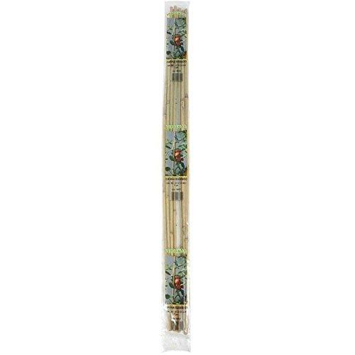 Verdemax 6660 14–16 mm Diamètre 180 cm Hauteur Support Bambou en grappe (Lot de 3)
