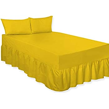 Base//Platform Valance Bed Sheet In All Sizes Premium Quality 24 Colors
