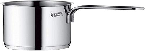 WMF Mini Stielkasserolle, 10cm, klein, ohne Deckel, Kochtopf 0,5l, kleiner Topf für Singlehaushalt, Cromargan Edelstahl poliert, Induktion, stapelbar, ideal für kleine Portionen