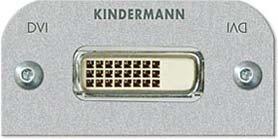 KINDERMANN 7441000560 DVI-D - TOMA DE CORRIENTE