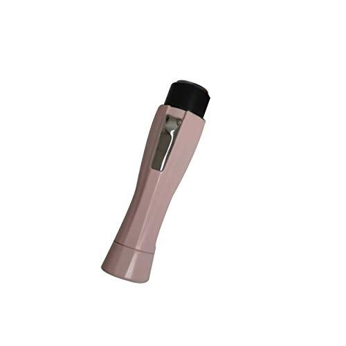 Lorenlli Afeitadora eléctrica portátil Depiladora del pelo de las mujeres Maquinilla de afeitar Mini Depilación de moda portátil para la cara axila Pierna Cuerpo