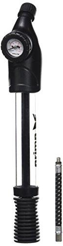 erima Luftpumpe mit Luftdruckmesser, schwarz, 1, 724607