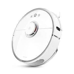 Xiaomi Robot SDJQR02RR Aspirapolvere autocaricante, Aspirazione super forte, Bianco