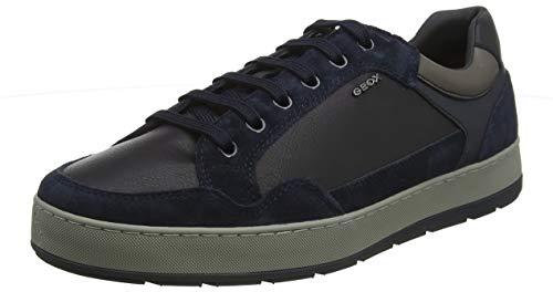 Geox U ARIAM B, Zapatillas para Hombre, Azul Navy C4002, 45 EU