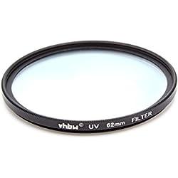 vhbw Filtre Protection UV Universel 62mm pour Appareil Photo Fuji/Fujifilm XF 23 mm F1.4 R, XF 55-200 mm F3.5-4.8 R LM OIS, XF 56 mm 1,2 R APD.