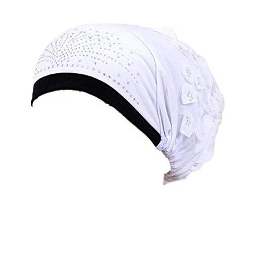 Damen Muslimische Stretch Turban Mütze Frauen Häkeln Beanie