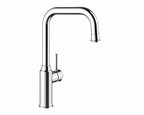 Preisvergleich Produktbild Blanco Livia-S, Küchenarmatur - Einhebelmischer, Oberfläche Chrom, Hochdruck, 1 Stück, 521288