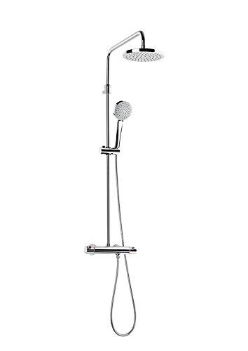 Roca A5A2018C00 – Columna de ducha termostática telescópica