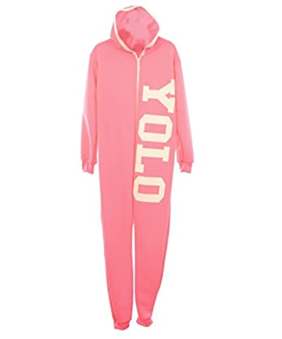 Neon Pink YOLO 7-8 Years - Pat New Children Unisex