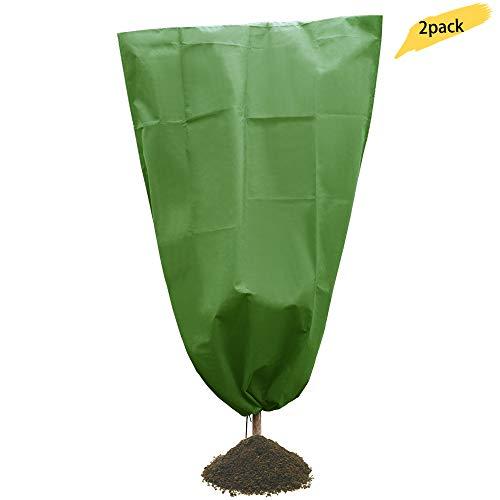 Jycra impianto di riscaldamento giacca antigelo pile giardino copertura bag sacca per fiori arbusti e alberi, siepi