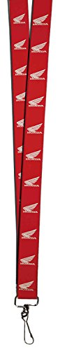 honda-automobile-company-motorcycle-wings-logo-red-lanyard