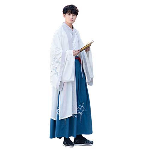 YCWY Paar Mode Alten chinesischen traditionellen Hanfu Kleid Cosplay - Alten Chinesischen Kostüm