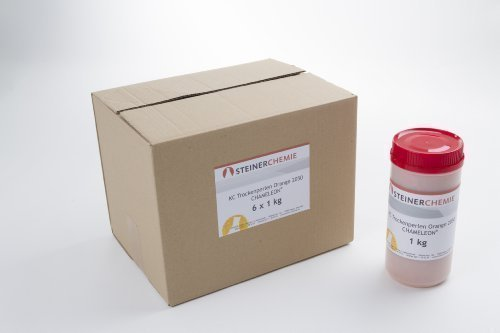 KC-Trockenperlen® Orange Chameleon®, Karton mit 6x1kg (regenerierbar)