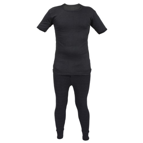 Kids-Thermal-Winter-Warm-Underwear-Set-Long-John-Bottom-and-Short-Sleeve-Top