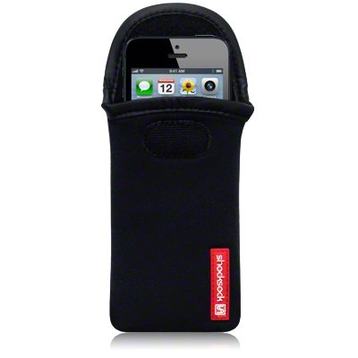 Handytasche Case Etui Hülle Neopren für Apple iPhone 5/5S/SE Schwarz