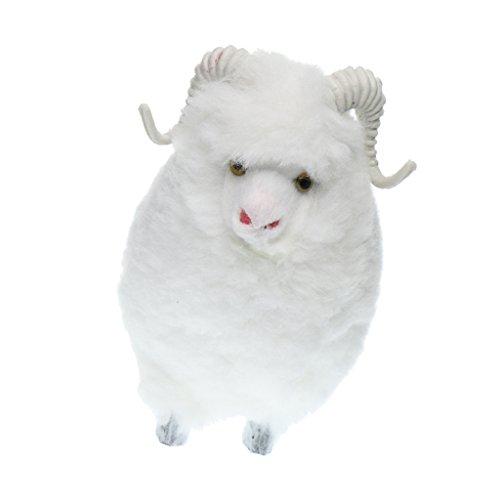 Artificial Animal Mouton Pelouse Maison Jardin Décoration Blanc Mignon Artisanat