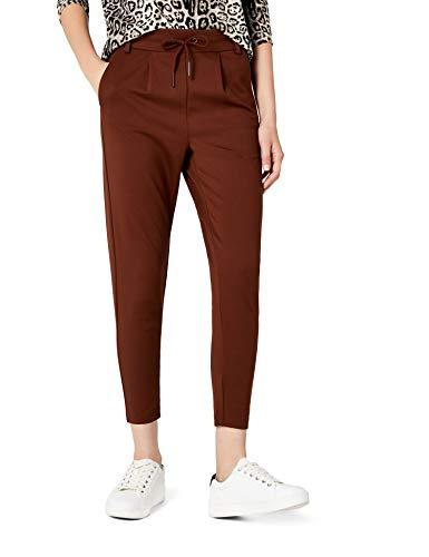 ONLY Damen Hose onlPOPTRASH Easy Colour Pant PNT NOOS, Braun (Cherry Mahogany), WNA/L30(He Preisvergleich