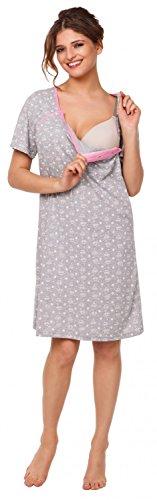 Happy Mama Femme chemise nuit/peignoir/pyjamas grossesse VENDUE SÉPARÉMENT. 980p Chemise de nuit