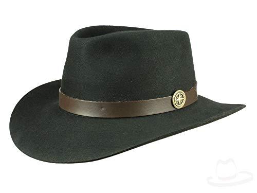 Mayser Homme Chapeau Cowboy Windrose noir