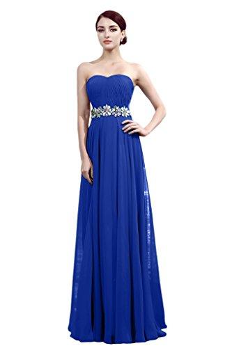 Promgirl House - Robe - Trapèze - Femme Bleu - Bleu royal