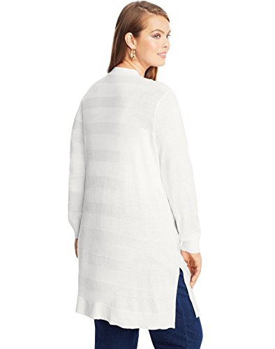 Just My Size - Gilet - Manches Longues - Femme Blanc