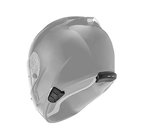 Cardo PTS00001 PACKTALK Slim Motorrad Kommunikations- und Unterhaltungssystem mit natürlicher Sprachbedienung, Sound von JBL, Connect 2 bis 15 Fahrer (Einzelpackung), Schwarz - 4
