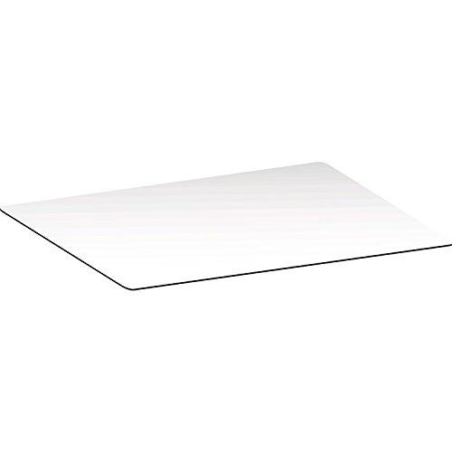 Topalit Tischplatte Smart Line 80x120 cm | Dekor: Pure White | Reinweiß | Weiß | 1 Stück