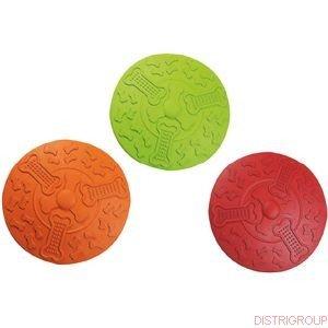 Hundespielzeug: FRISBEE aus Gummi Ø 18cm #507722