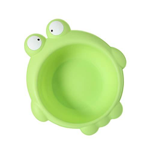 D DOLITY Waschschüssel Baby tragbares Waschbecken Plastik - Frosch grün