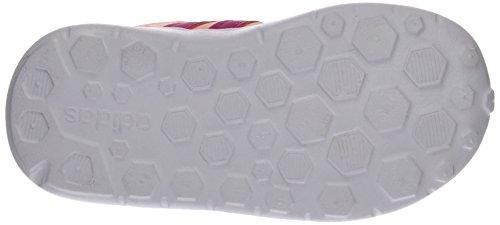 adidas  Lite Racer Inf,  Unisex - Kinder Sneakers Mehrfarbig (Rosa (Nadecl / Rosfue / Rosimp))