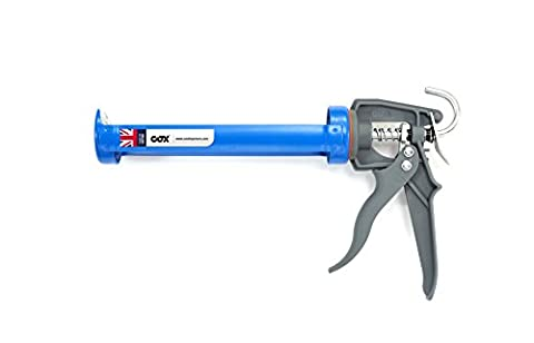 Cox MF8303 Semi professional cradle frame applicator Midiflow for 310ml cartridges, steel cradle and reinforced plastic trigger assembly, mechanical advantage: 10:1 by Cox